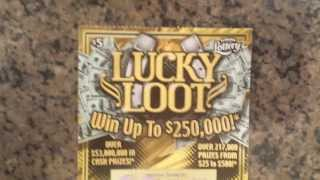 getlinkyoutube.com-Florida Scratch Ticket - $5 Lucky Loot