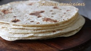 getlinkyoutube.com-Tortilla mexicaine galette pour tacos /Mexican tortilla, Mexican bread