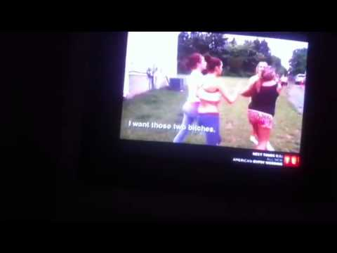 Gypsy sisters Nettie and Kayla fight full video