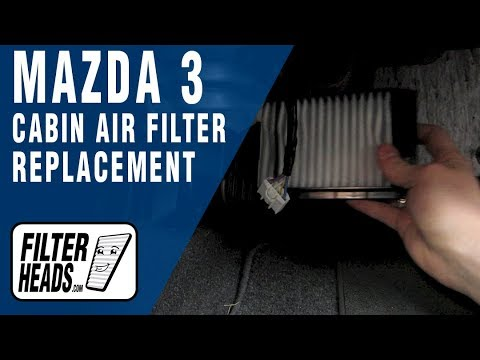 How to Replace Cabin Air Filter Mazda 3