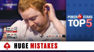 Top 5 Biggest Poker Mistakes