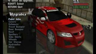 getlinkyoutube.com-GTA San Andreas Car Mods: Tuning Kits Part I