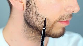 getlinkyoutube.com-Fill in Sparse Areas of Your Beard | Male Makeup