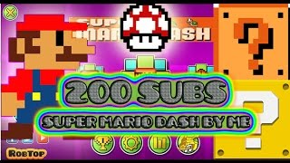 getlinkyoutube.com-Geometry Dash [2.0] - Super Mario Dash Texture Pack