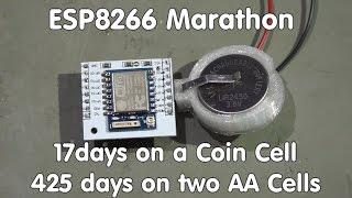 getlinkyoutube.com-#58 ESP8266 Sensor runs 17 days on a coin cell/transmits data to sparkfun.com and ubidots.com