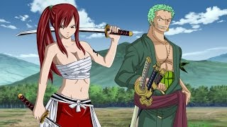 getlinkyoutube.com-Erza vs Zoro