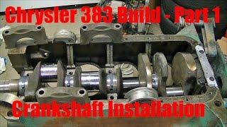 getlinkyoutube.com-Joe's Garage 383 Engine Rebuild Part 1 – Crankshaft Installation