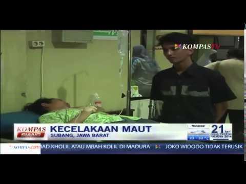 Kecelakaan Maut, Subang Jawa Barat-Kompas Siang 18 Juni 2014