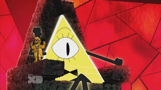 getlinkyoutube.com-All Bill Cipher Scenes in Escape from Reality