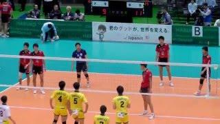 getlinkyoutube.com-春高バレー2016 鎮西(熊本) vs 大塚(大阪) 2セット-1 第2回戦 全日本バレーボール高等学校選手権大会 2016.1.6