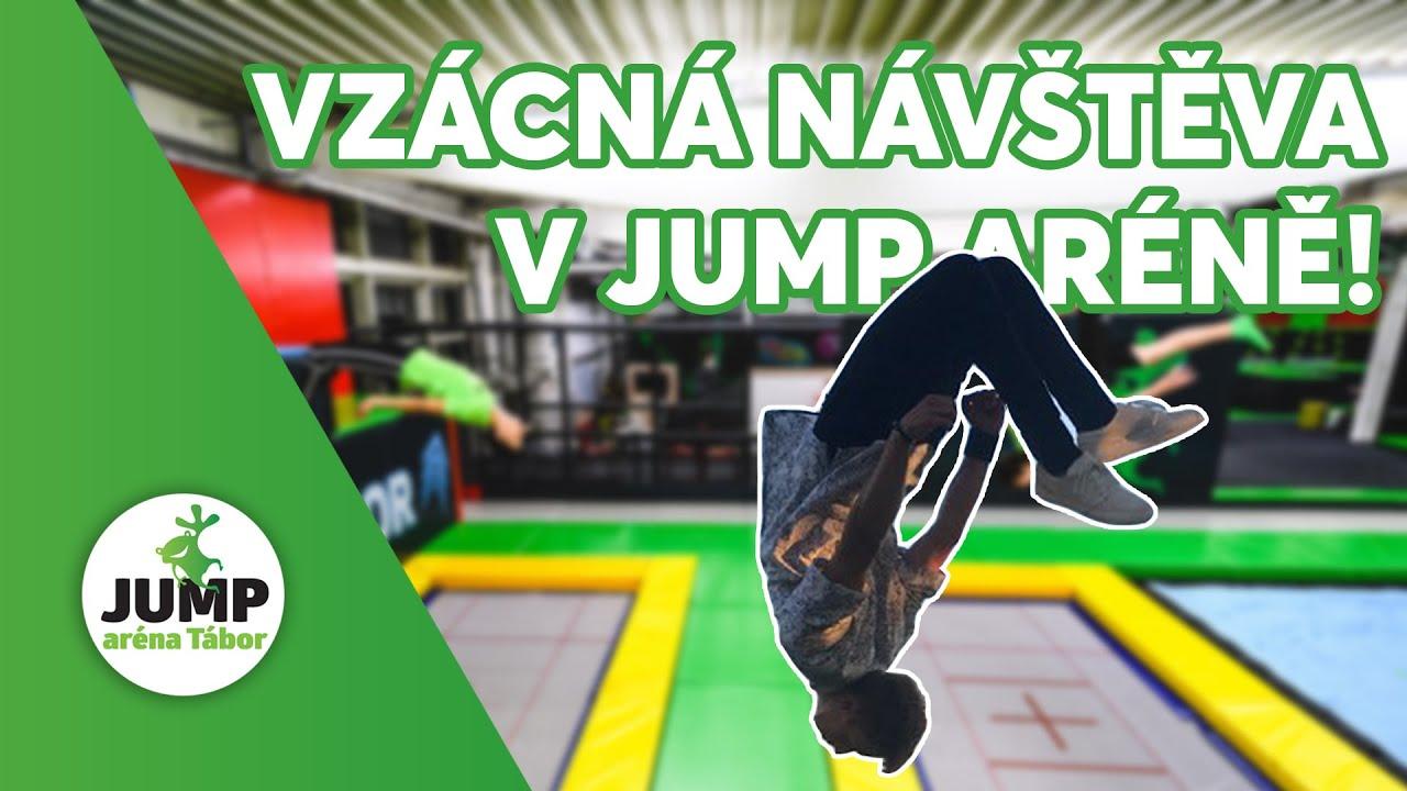 Návštěva z Jihlavy v Jump aréně Tábor