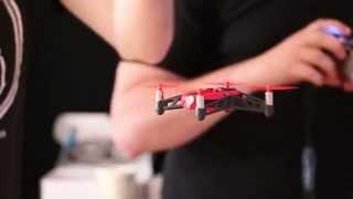 getlinkyoutube.com-Parrot's Rolling Spider Drone Flies and Flips