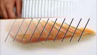getlinkyoutube.com-【とり天】鶏ムネ肉が柔らかくなる切り方【秋川牧園秘伝】||秋川牧園