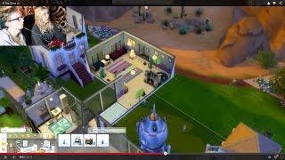 getlinkyoutube.com-30# The Sims 4 - Robimy latający pokój dla bliźniaczek!