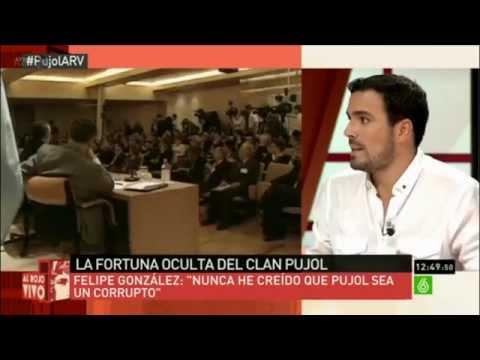 Alberto Garzón participa en ´Al Rojo Vivo` (La Sexta 09.09.2014)