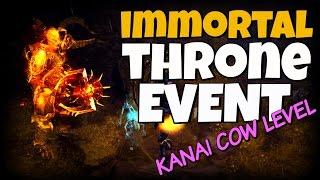 getlinkyoutube.com-Diablo 3 - Immortal Throne Event - Kanai Cow Level