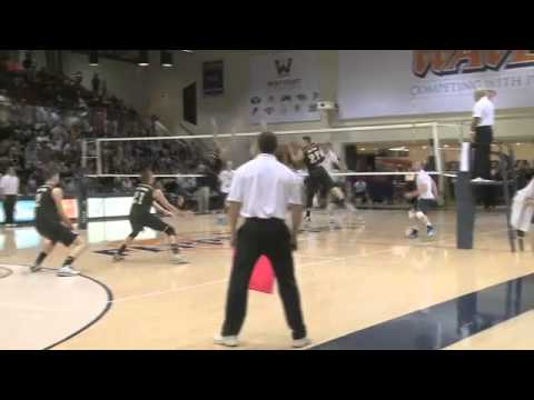 Men's Volleyball Defeats Long Beach in MPSF Quaterfinals