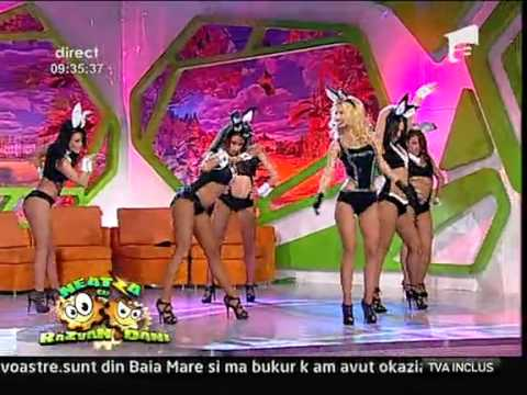 Andreea Balan - &quot;The Bunny Show&quot; @ Neatza cu Razvan si Dani