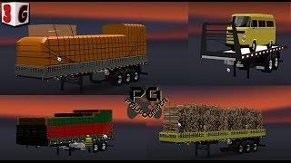 getlinkyoutube.com-Euro Truck Simulator 2 ---Pack de cargas TLESGames 1.16.X Até 1.19.X
