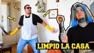 getlinkyoutube.com-Parodia de Tumba La Casa (Remix) - LIMPIO LA CASA (FRANDA) 2016 HD