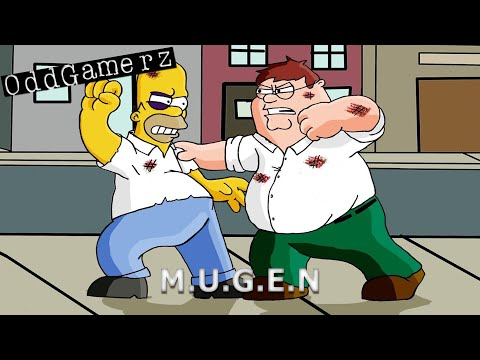 Peter Griffin vs. Homer Simpson -IZX83RBn1KQ