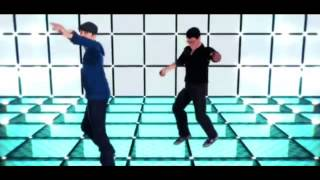 getlinkyoutube.com-Markiplier and jacksepticeye dancing to Tsunami (MMD)