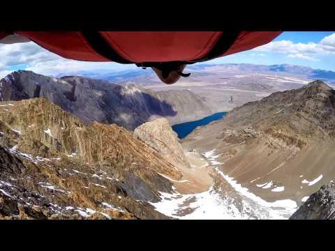 Mount Morrison High-Sierra Wingsuit BASE Jumping