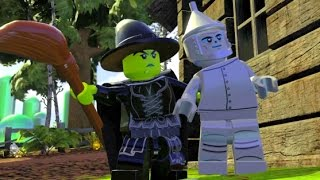 getlinkyoutube.com-LEGO Dimensions - Wizard of Oz Adventure World - All Quests