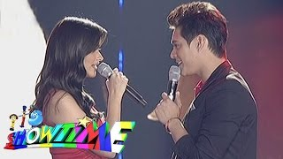 "getlinkyoutube.com-It's Showtime: Liza, Enrique sing ""Forevermore"" on 'Showtime Kapamilya Day'"