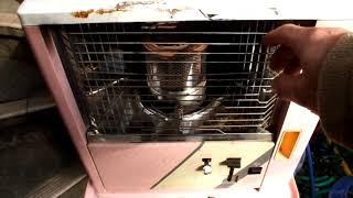 石油ストーブを廃油スオーブで使う方法 Cooking Oil Stove