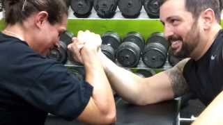 getlinkyoutube.com-Epic Gym Time Arm Wrestling