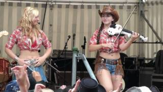 getlinkyoutube.com-COUNTRY SISTERS - Cotton Eyed Joe