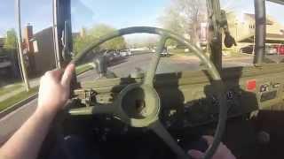 getlinkyoutube.com-Commuting in a Detroit Diesel Powered M37