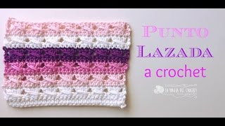 getlinkyoutube.com-PUNTO LAZADA A CROCHET