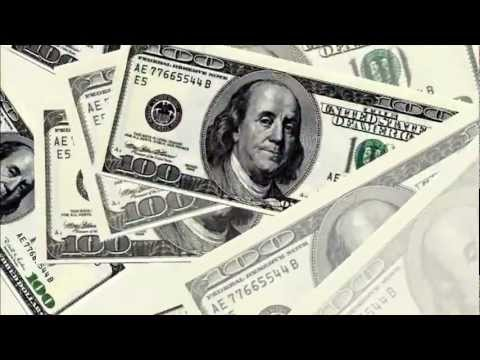 HD Dollars Bills Animated Background Free Stock Footage