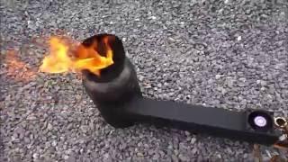 getlinkyoutube.com-Waste-oil-burner- горелка на отработанном масле
