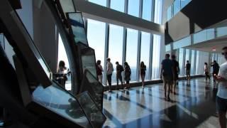 getlinkyoutube.com-One World Observatory at One World Trade Center on Wednesday July 22, 2015.