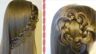 The Melting Braid Tutorial & 2 Cute Hairstyles