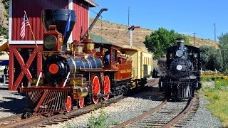 getlinkyoutube.com-Nevada Steam Trains 4th of July 2014