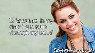 getlinkyoutube.com-Miley Cyrus - My Heart Beats For Love (Lyrics Video) HD