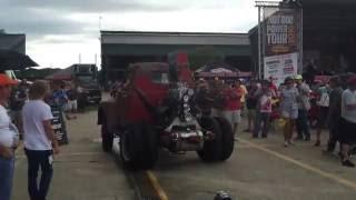 HRPT 2016. Stubby Bob hotrod at Lamar Dixon Expo Center.
