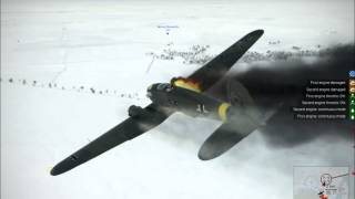getlinkyoutube.com-IL 2 Sturmovik Battle of Stalingrad Epic Crashes and Fails Compilation Part 4
