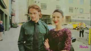 getlinkyoutube.com-Sam & Caitriona - Outlander / Can't remember to forget you