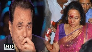 getlinkyoutube.com-Dharmendra Reacts on Hema Malini's Car Accident
