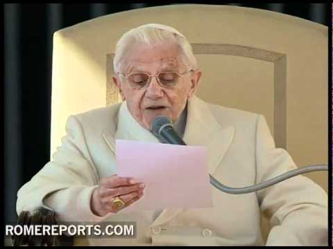 General Audience  Pope explains psalm that predicts coming of Christ