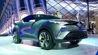 getlinkyoutube.com-【TOYOTA C-HR Concept】スタイリッシュで走り自慢なSUVハイブリッド!( ^ ^ )/@東京モーターショー2015