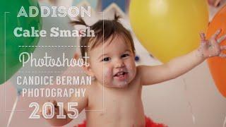 getlinkyoutube.com-Addison Birthday Cake Smash Video [Candice Berman Photography]