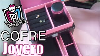 "getlinkyoutube.com-Manualidad: JOYERO ""COFRE"" MONSTER HIGH"