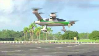 getlinkyoutube.com-NASA Samarai hybrid-electric VTOL personal-aircraft concept