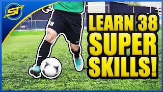 getlinkyoutube.com-Learn 38 SUPER Football Skills ★ SkillTwins/Ronaldo/Neymar Skills